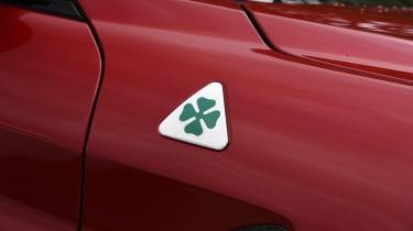 Alfa Romeo Giulia Quadrifoglio - Quadrifoglio badge