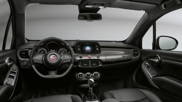Fiat range interior