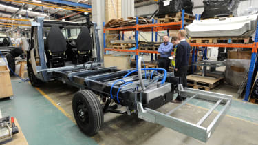 Making a motorhome - Chassis