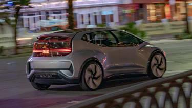 Audi AI:ME concept - rear action