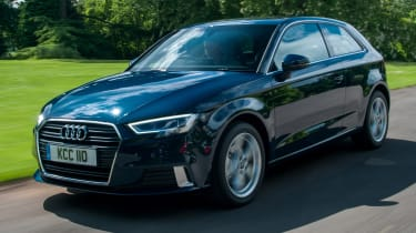 Audi A3 TFSI 2016 - front tracking
