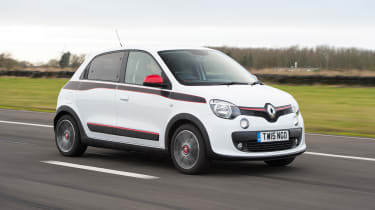 Renault Twingo - front action