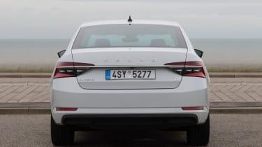 Skoda Superb iV - rear static