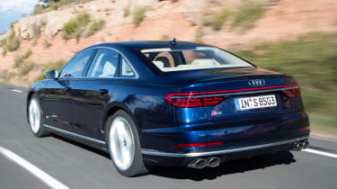 Audi S8 - rear