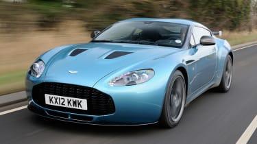 Aston Martin V12 Zagato front tracking