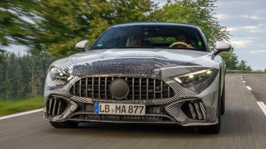 Mercedes SL prototype - full front
