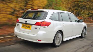 Subaru Legacy rear tracking