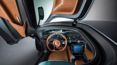 Rimac C_Two - interior
