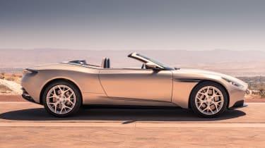 Aston Martin DB11 Volante - side roof down