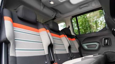Citroen Berlingo - back seats