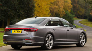 Audi A8 - rear static