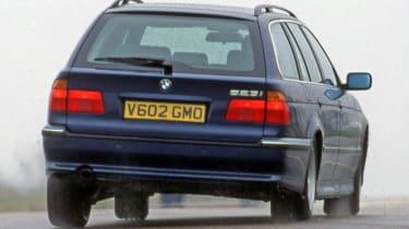 BMW 5 Series E39 rear