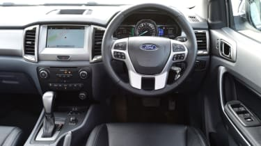 Ford Ranger - interior