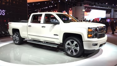 "<p class=""p1"">While the Silverado might not be particularly crazy by American standards, there's no denying it would stand out on UK roads due to its sheer bulk. The huge pick-up truck gets a choice of V6 and V8 petrol engines, all wit"