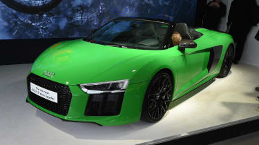 Audi used the 2017 Goodwood Festival of Speed to reveal the new R8 Spyder V10 Plus to the world.