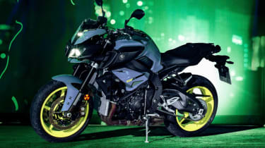 Yamaha MT-10 review - side profile static