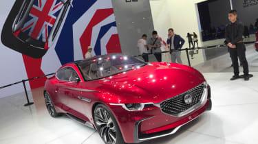 MG E-Motion Concept car 2017 show pic