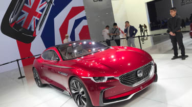 MG E-Motion Concept car 2017 show pic