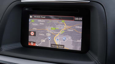 SE-L Nav version comes with this sat-nav system.