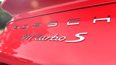 Porsche 911 Turbo S - rear badge