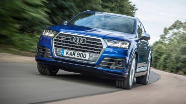 Audi SQ7 - front action