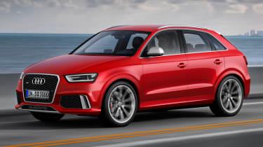 Audi Q3 RS front side