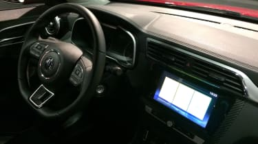 MG XS interior