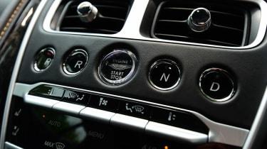 Aston Martin DB11 - centre console