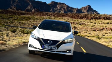 Nissan Leaf - full front