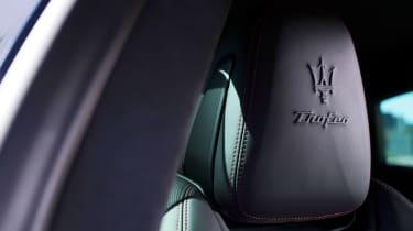 Maserati Quattroporte Trofeo - seat detail
