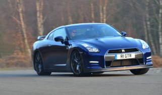 Nissan GT-R 2011 cornering