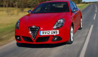 Alfa Romeo Giulietta TCT front tracking