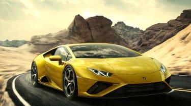 Lamborghini Huracan EVO RWD - front tracking