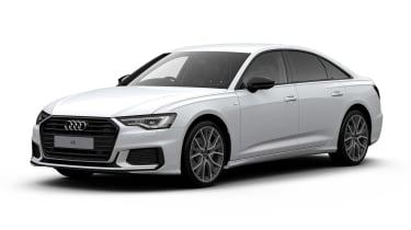 Audi A6 Black Edition - front