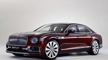 Bentley Flying Spur - studio front/side