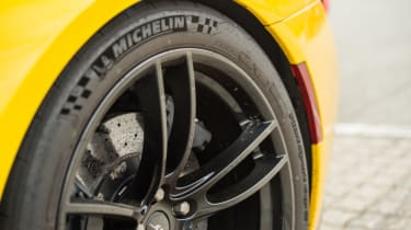Ford GT Norway road trip - alloy wheel