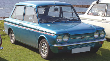 Hillman Imp blue