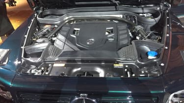 New Mercedes G-Class revealed - engine