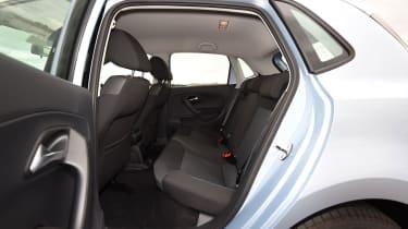 VW Polo BlueMotion - rear seats