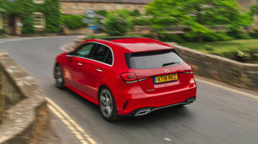 Mercedes A 250 AMG Line - rear tracking