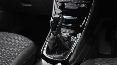Vauxhall Astra - centre console