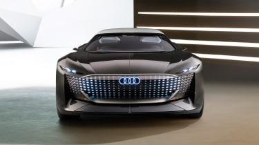 Audi skysphere concept - studio front