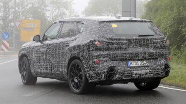 BMW X8 - 2021 spyshot 13