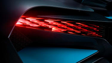 Bugatti Divo - rear light