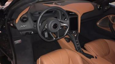 McLaren 720S Geneva - dash