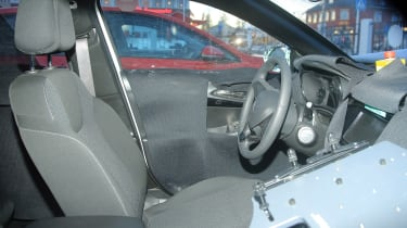 vauxhall corsa 2018 spy shot interior