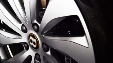 Bentley Flying Spur - studio wheel detail