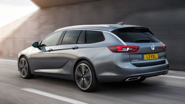 Vauxhall Insignia Sports Tourer 2017 - rear tracking