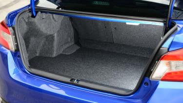 Subaru WRX STi 2014 - boot space