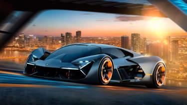 Lamborghini Terzo Millennio - front